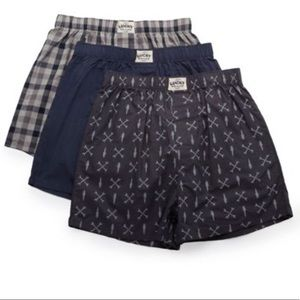 Men's Lucky Woven Boxers - 3 Pack
